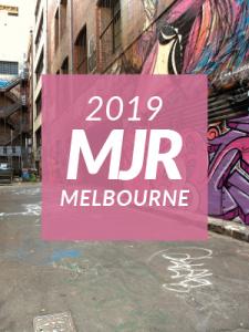 MJR Conference 2019 melbourne